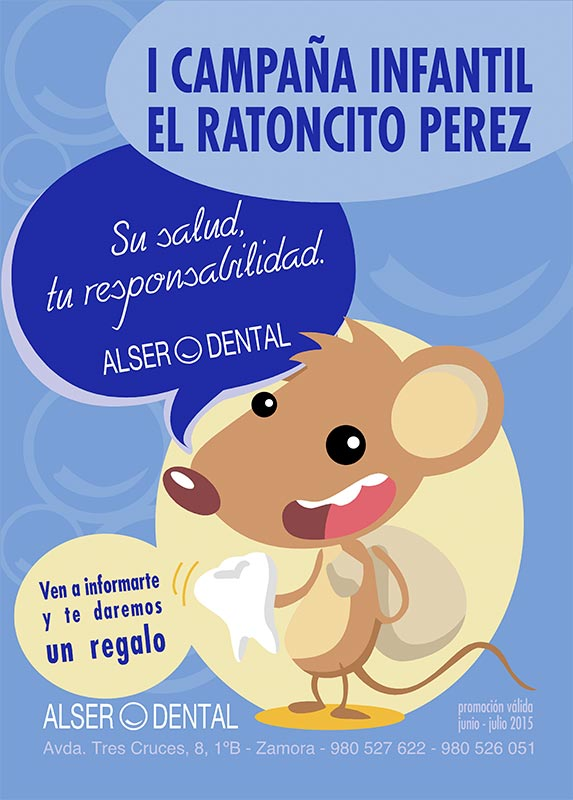 El Ratoncito Pérez en Alser Dental